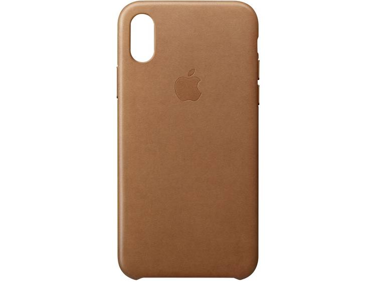APPLE Leather Case iPhone X Bruin