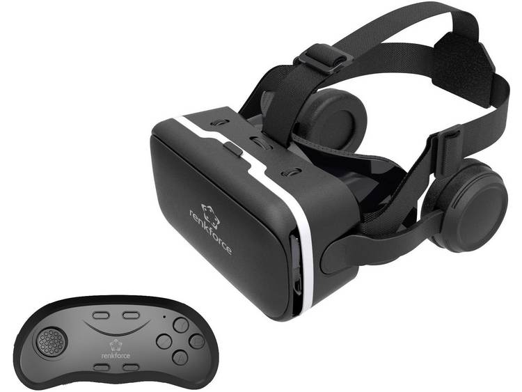 6fe46195813340 Vr Park-v3 Virtual Reality 3d Video Glasses Headset With Controller ...