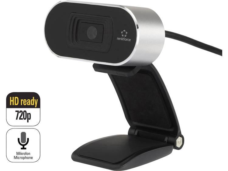 Renkforce RF-WC-720P HD-webcam 1280 x 720 pix Klemhouder