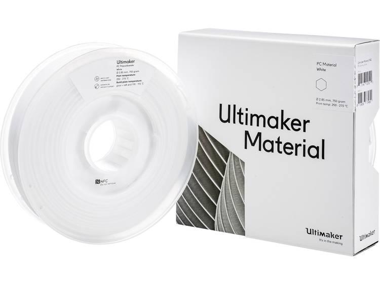 Filament Ultimaker PC (Polycarbonaat) 2.85 mm Wit 750 g