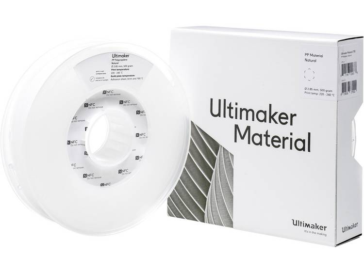 Filament Ultimaker PPX â M0590 Natural 500 215294 2.85 mm Naturel 500 g