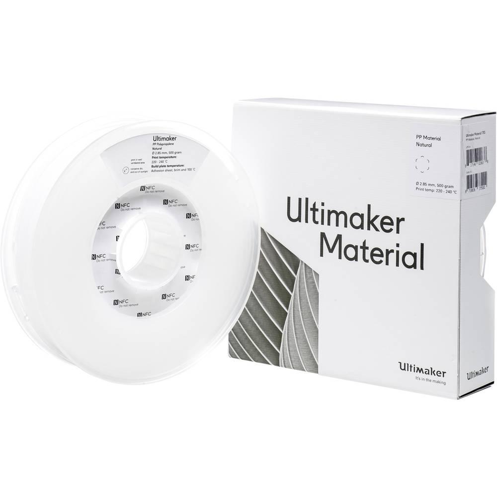 Ultimaker 3D-skrivare Filament PP (Polypropylen) 2.85 mm Natur 500 g