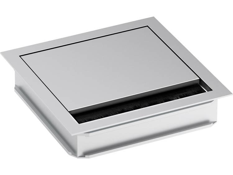 Bachmann Electric 930.310 Kabeldoorvoering Vierkant Klem-à (max.) 5 mm Aluminium Zilver (mat, geëloxeerd) 1 stuks