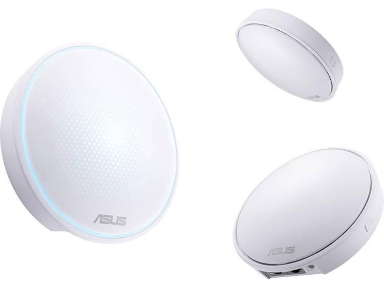 Asus Lyra Mini - 3in1 Pack Triple Mesh-netwerk 1.300 Mbit/s 2.4 GHz, 5 GHz