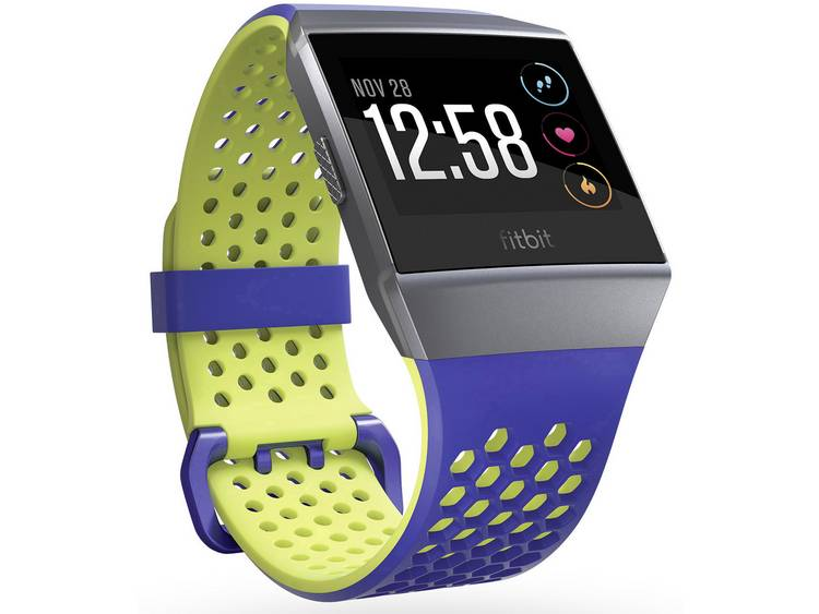 FITBIT Ionic Sport Band Blauw-Geel S