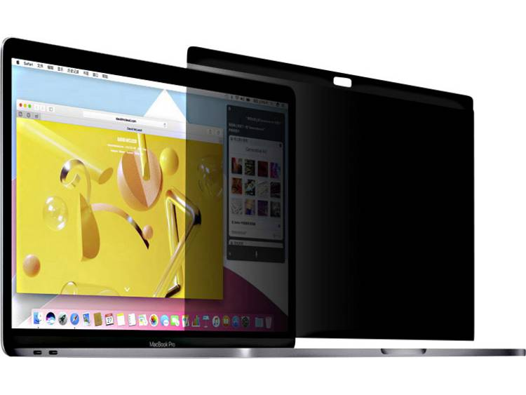 STARK Magnetischer Privacy Sichtschutz Beschermfolie 38.1 cm (15 inch) Beeldverhouding: 16:9 MPS-15-MBPC Geschikt voor: Apple MacBook Pro 15 inch