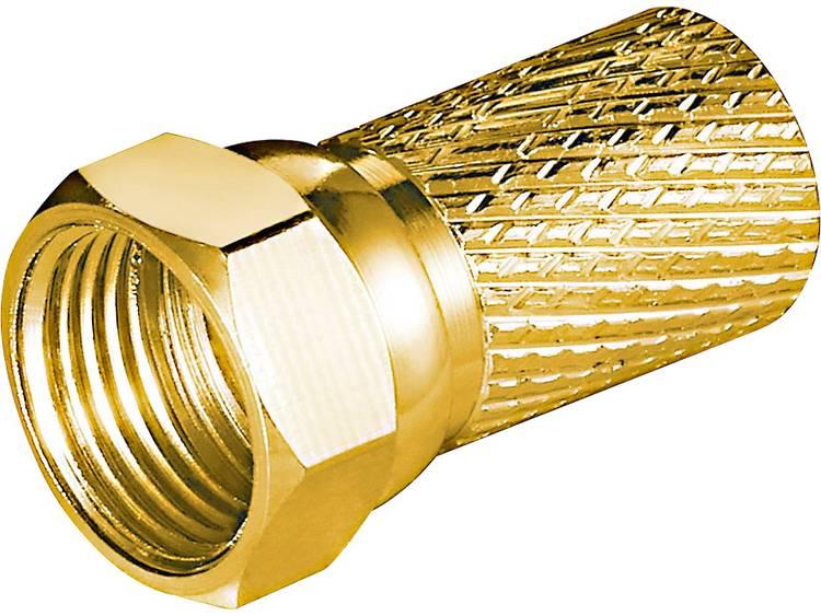 Goobay 51868 Aufdreh-F-stekker Kabeldiameter: 7 mm