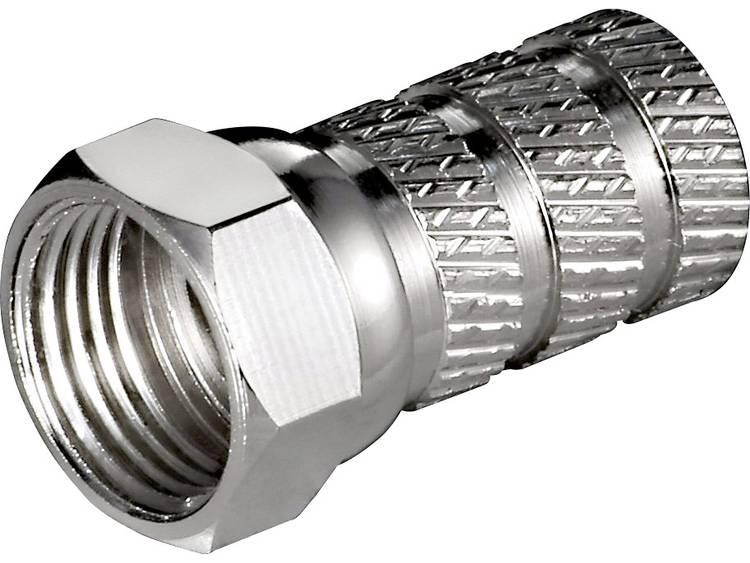 Goobay 51861 Aufdreh-F-stekker Kabeldiameter: 5.2 mm