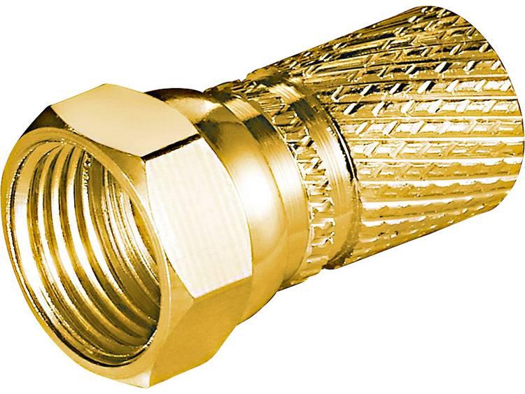 Goobay 51870 Aufdreh-F-stekker Kabeldiameter: 7.3 mm