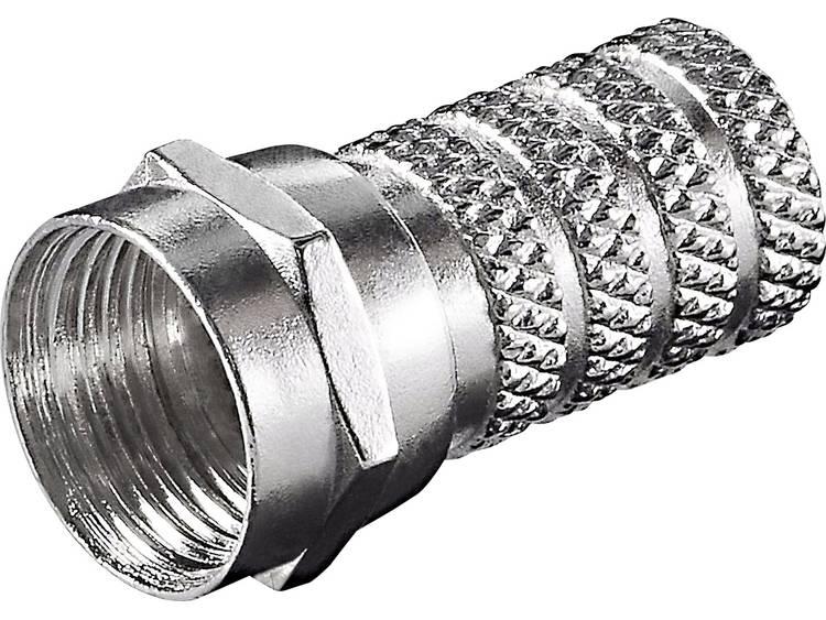 Goobay 51850 Aufdreh-F-stekker Kabeldiameter: 4 mm