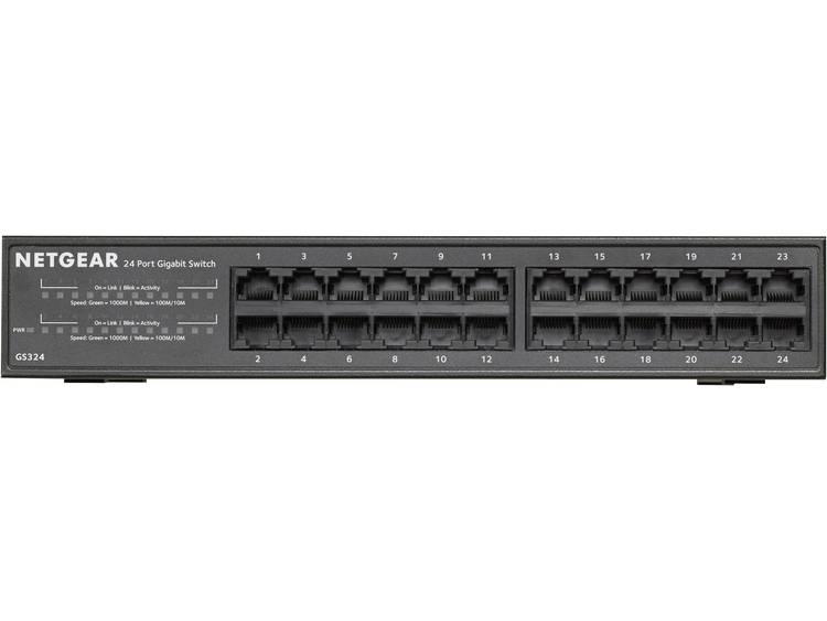 NETGEAR GS324-100EUS Netwerk switch RJ45 24 poorten