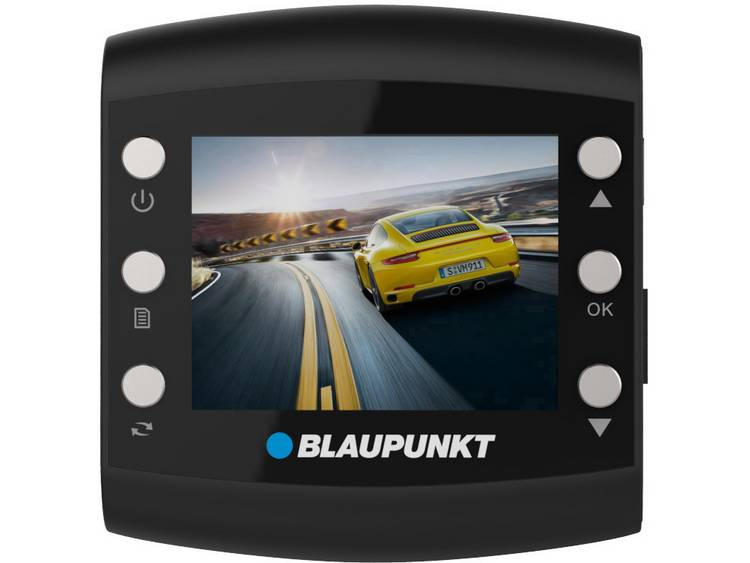 Blaupunkt BP 2.1 Dashcam Kijkhoek horizontaal (max.): 120 ° 12 V Display, Accu, Microfoon