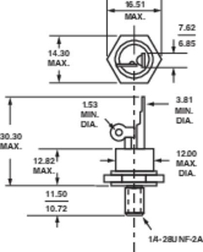 Vishay 25RIA120 Thyristor (SCR) TO-208AA 1200 V 25 A