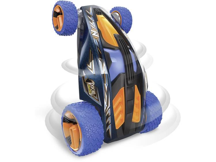 Nikko 37015 Psycho Gyro Blue RC modelauto voor beginners Elektro Straatmodel Incl. accu, oplader en