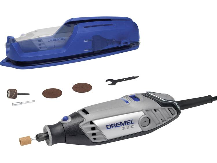 Multifunctioneel gereedschap incl. accessoires 130 W Dremel 3000-1-5 3-diamonds-Set F0133000NA