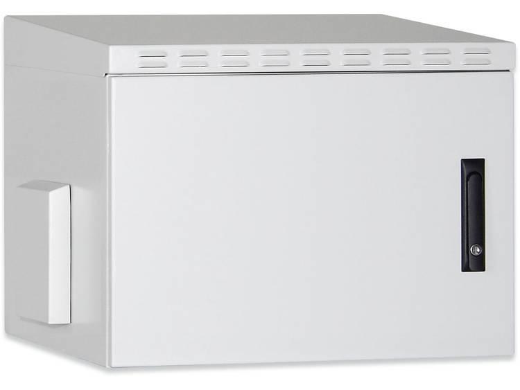 19 inch wandkast Digitus Professional DN-19 16U-6/6-I-OD (b x h x d) 600 x 891 x 600 mm 16 HE Grijs (RAL 7035)