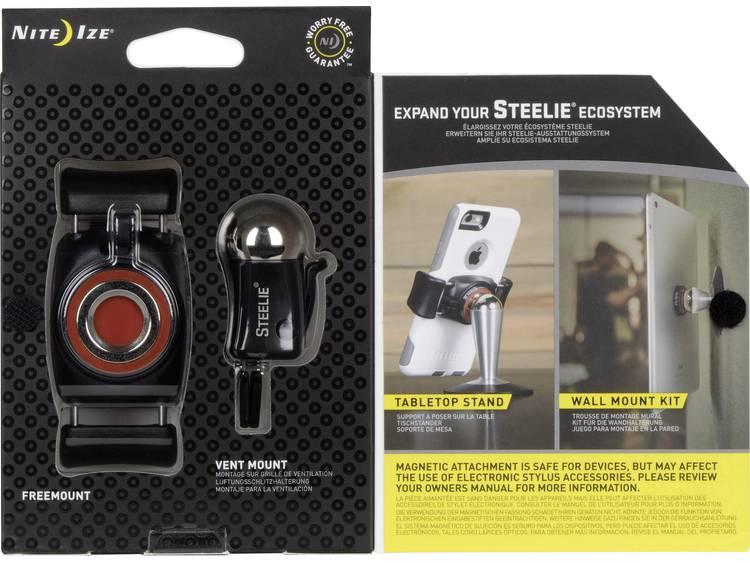 Ventilatierooster Auto-telefoonhouder NITE Ize Steelie FreeMount Vent Kit 360° draaibaar 57-90