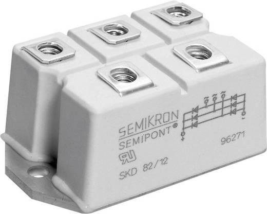 3-fasen vermogens-gelijkrichterbrug SKD Semikron SKD82/16 Soort behuizing SEMIPONT 3 I(FSM 50 Hz) 750 A U(RRM) 1600 V
