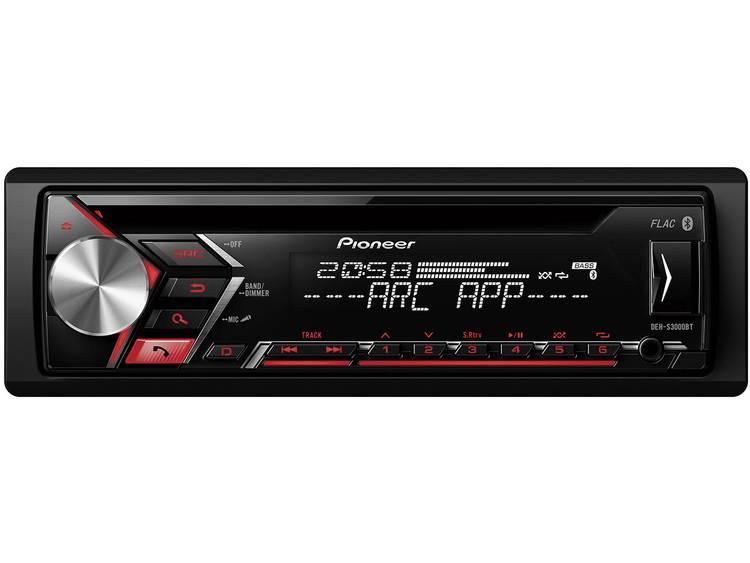 Pioneer DEH-S3000BT Bluetooth Zwart autoradio