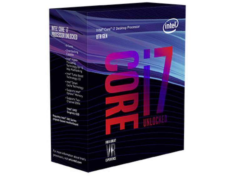 Processor (CPU) WOF Intel Core i7 i7-8700K 6 x 3.7 GHz Hexa Core Socket: Intel® 1151v2 95 W