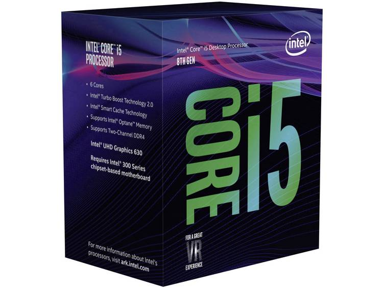 Processor (CPU) boxed Intel Core i5 i5-8400 6 x 2.8 GHz Hexa Core Socket: Intel® 1151v2 65 W