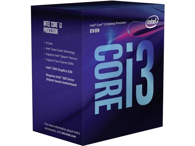 Processor (CPU) boxed Intel Core i3 i3-8100 4 x 3.6 GHz Quad Core Socket: Intel® 1151v2 65 W