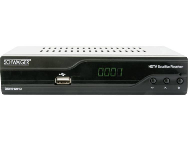 Schwaiger DSR512 HD HD-satellietreceiver Front-USB