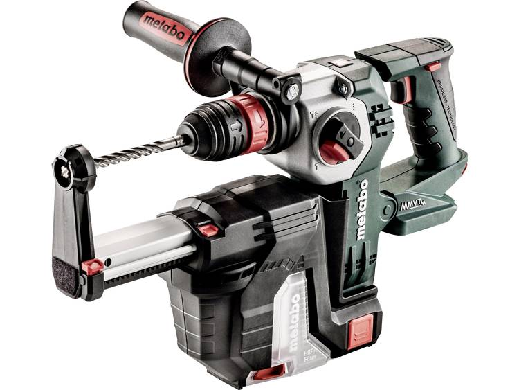 Accucombihamer, Accuboorhamer Metabo KHA 18 LTX BL 24 Quick SDS-Plus 18 V Li-ion zonder accu, incl.
