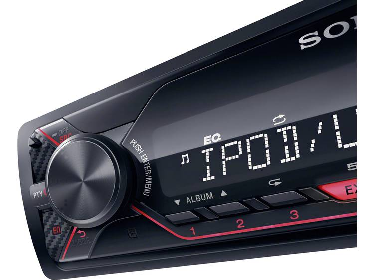 Sony DSX-A210UI rood
