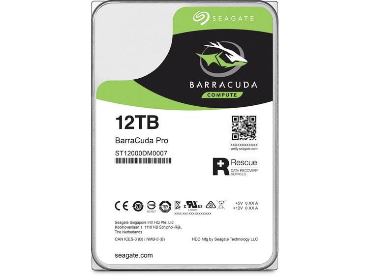 Seagate ST12000DM0007 Harde schijf (3.5 inch) 12 TB BarraCuda Pro Bulk