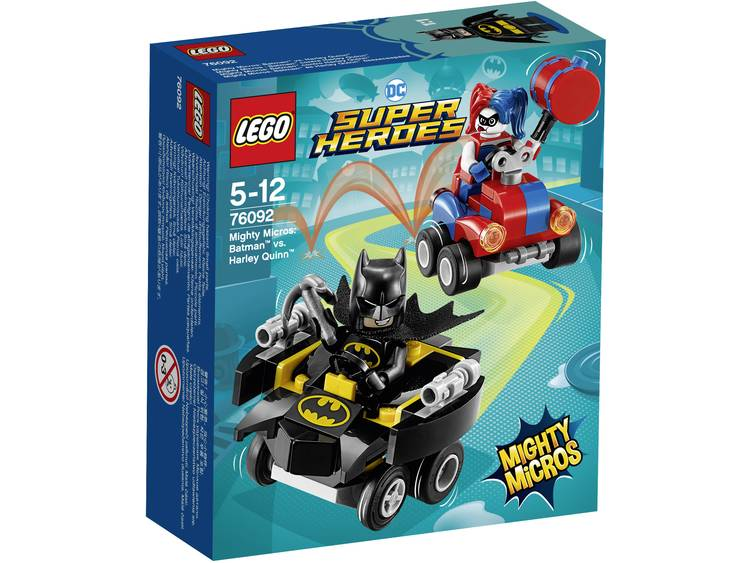LEGO Superheroes Mighty Micros: Batman Vs. Harley Quinn (76092)