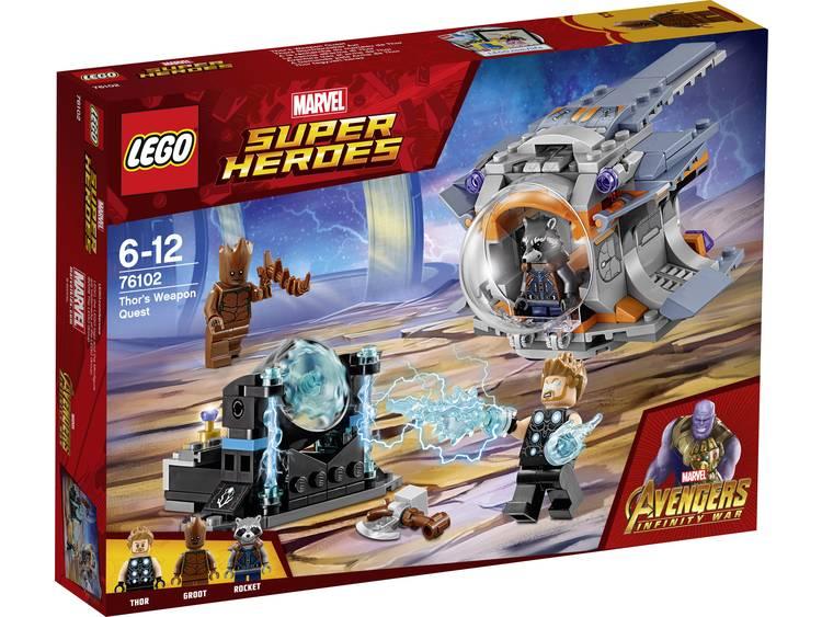 LEGO® Marvel Super Heroes Thor's Wapenzoektocht 76102