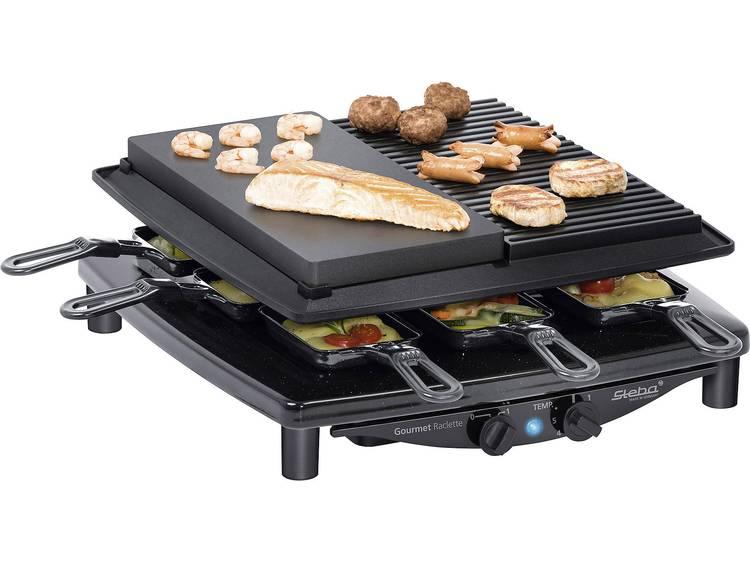 Steba RC4 Plus Deluxe Steengrill-Raclette