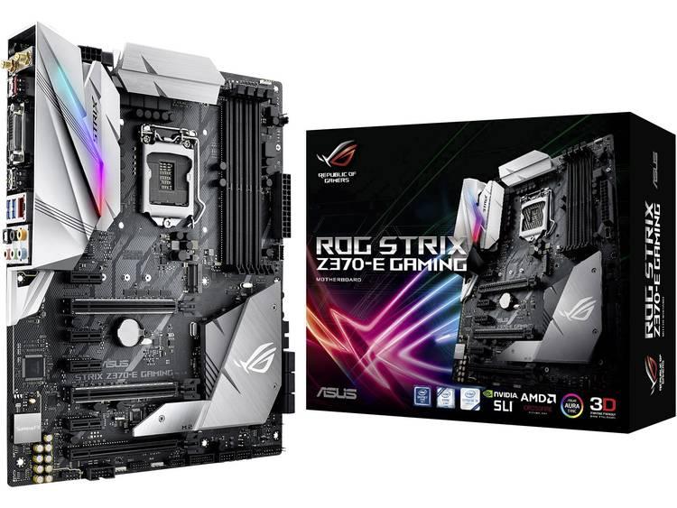 Asus ROG STRIX Z370-E GAMING Moederbord Socket Intel® 1151v2 Vormfactor ATX Moederbord chipset Intel® Z370