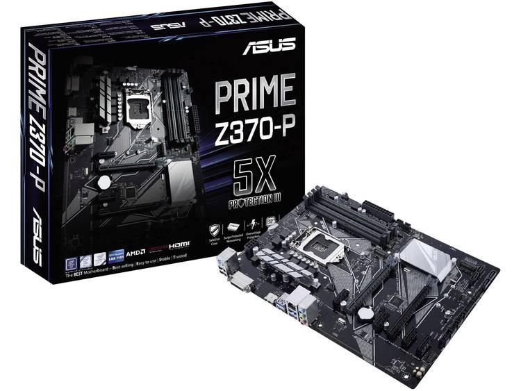 Asus Prime Z370-P Moederbord Socket Intel® 1151v2 Vormfactor ATX Moederbord chipset Intel® Z370