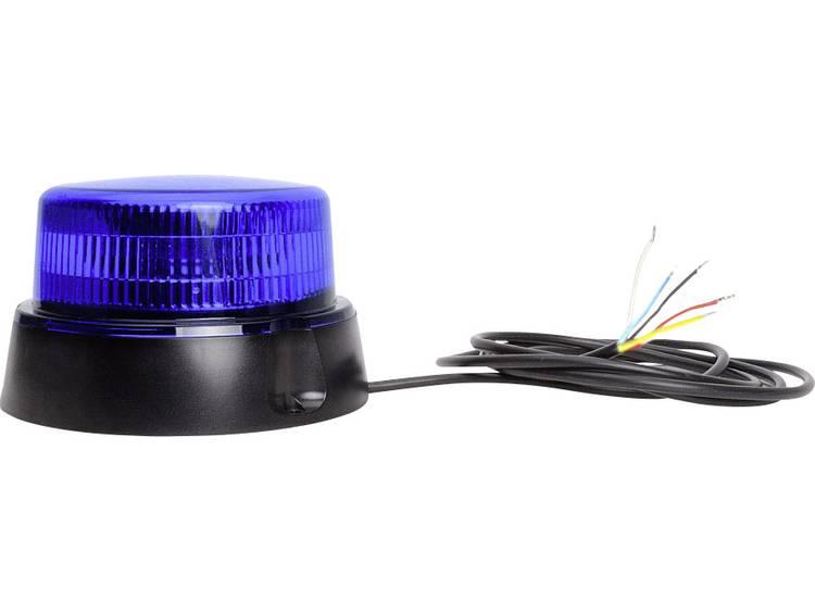 WAS Zwaailicht W126 Double Flash 867.4DSYNC 12 V, 24 V werkt op boordnet Schroefmontage Blauw