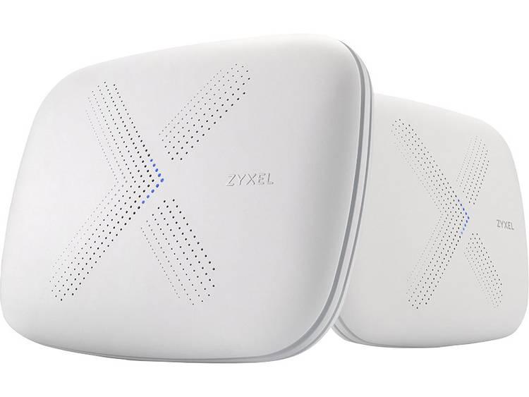 ZyXEL Multy X WSQ50 Tri-band Mesh WLAN System 2-pack Mesh-netwerk 2.4 GHz, 5 GHz