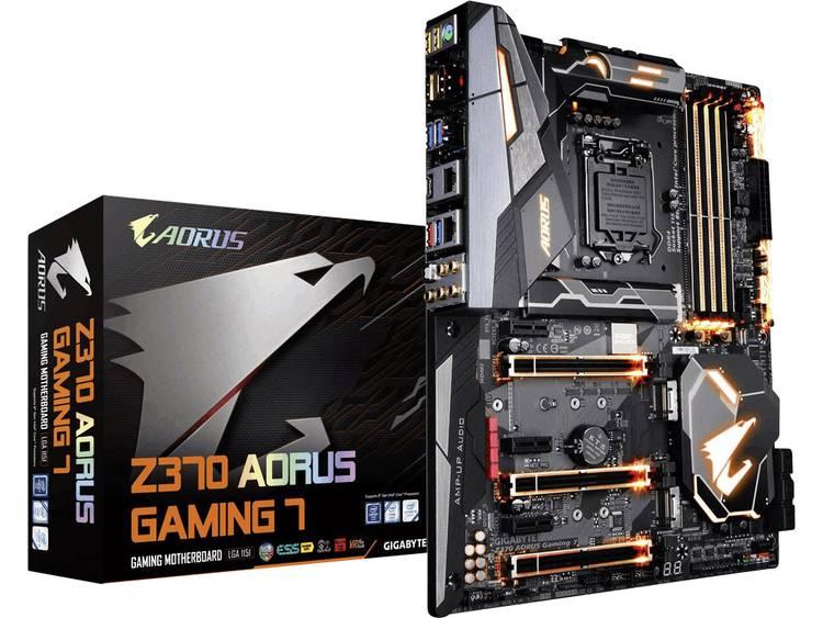 Gigabyte Z370 AORUS GAMING 7 Moederbord Socket Intel® 1151v2 Vormfactor ATX Moederbord chipset Intel® Z370
