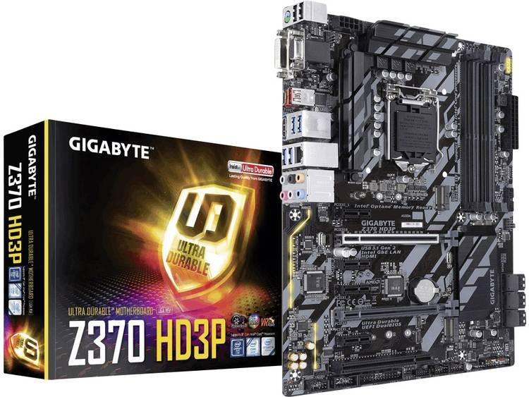 Gigabyte Z370 HD3P Moederbord Socket Intel® 1151v2 Vormfactor ATX Moederbord chipset Intel® Z370