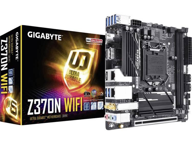 Gigabyte Z370N WIFI Moederbord Socket Intel® 1151v2 Vormfactor Mini-ITX Moederbord chipset Intel® Z370