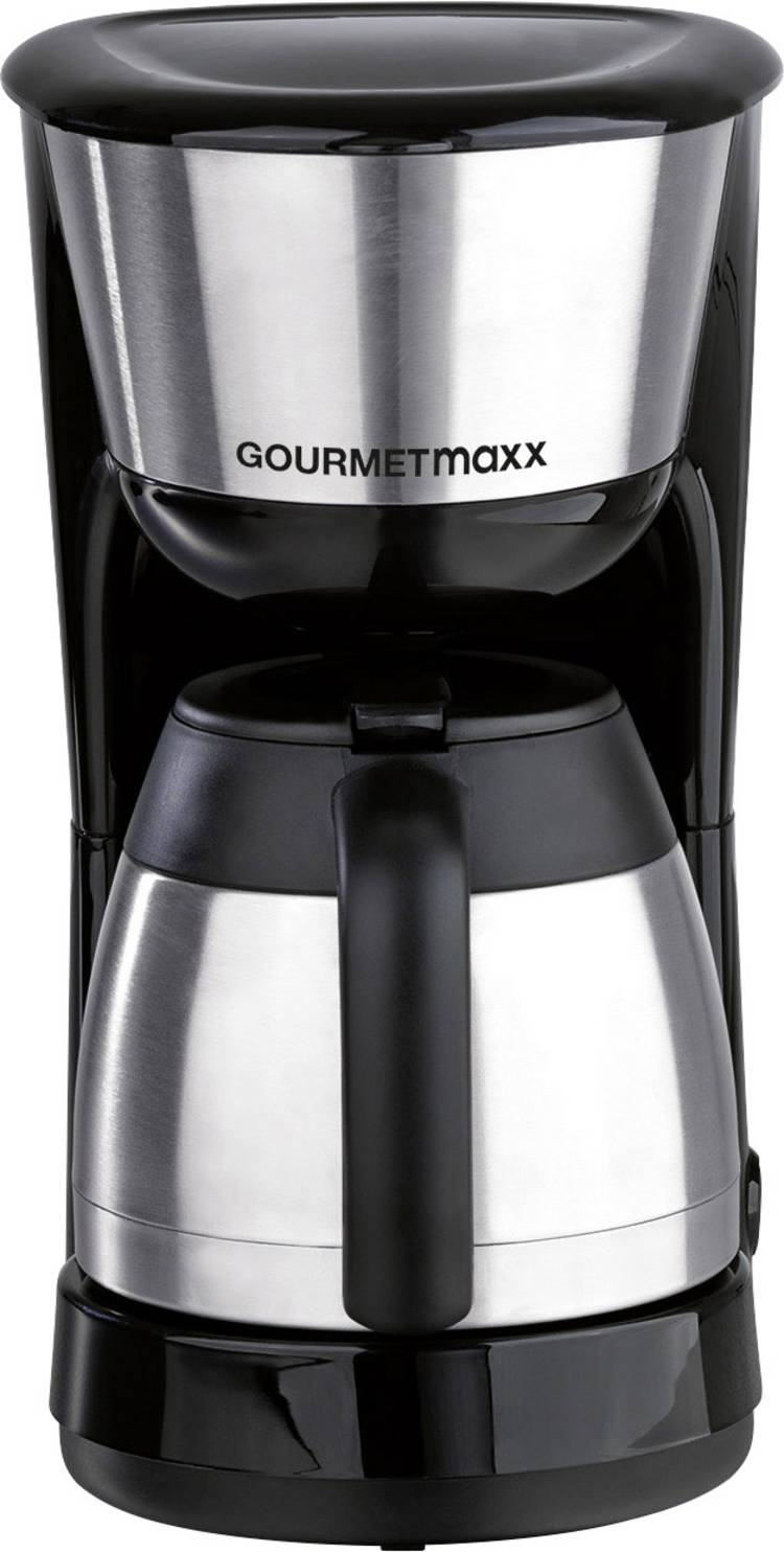 GourmetMaxx 01284 Koffiezetapparaat RVS Capaciteit koppen=8 Thermoskan