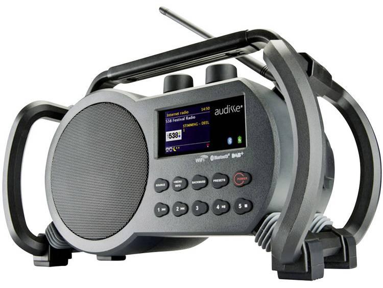 audisse Netbox Bouwradio met internetradio DAB+, FM AUX, Bluetooth, USB, WiFi, I