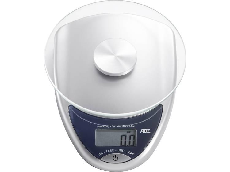 ADE KE 736 Celina Digitale keukenweegschaal Zilver antraciet