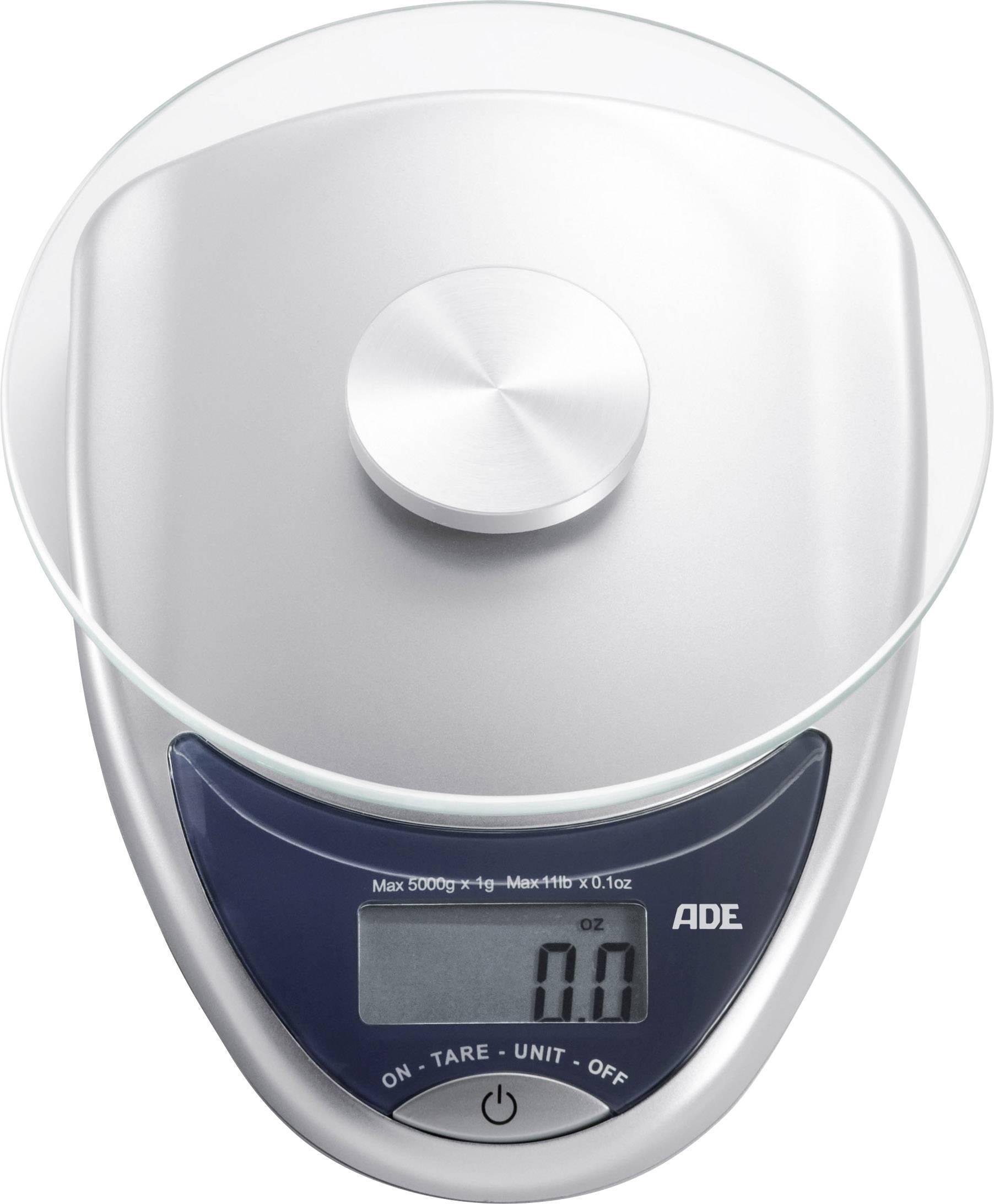 Beurer Ks25 Rvs.Ade Ke 736 Celina Digitale Keukenweegschaal Zilver Antraciet
