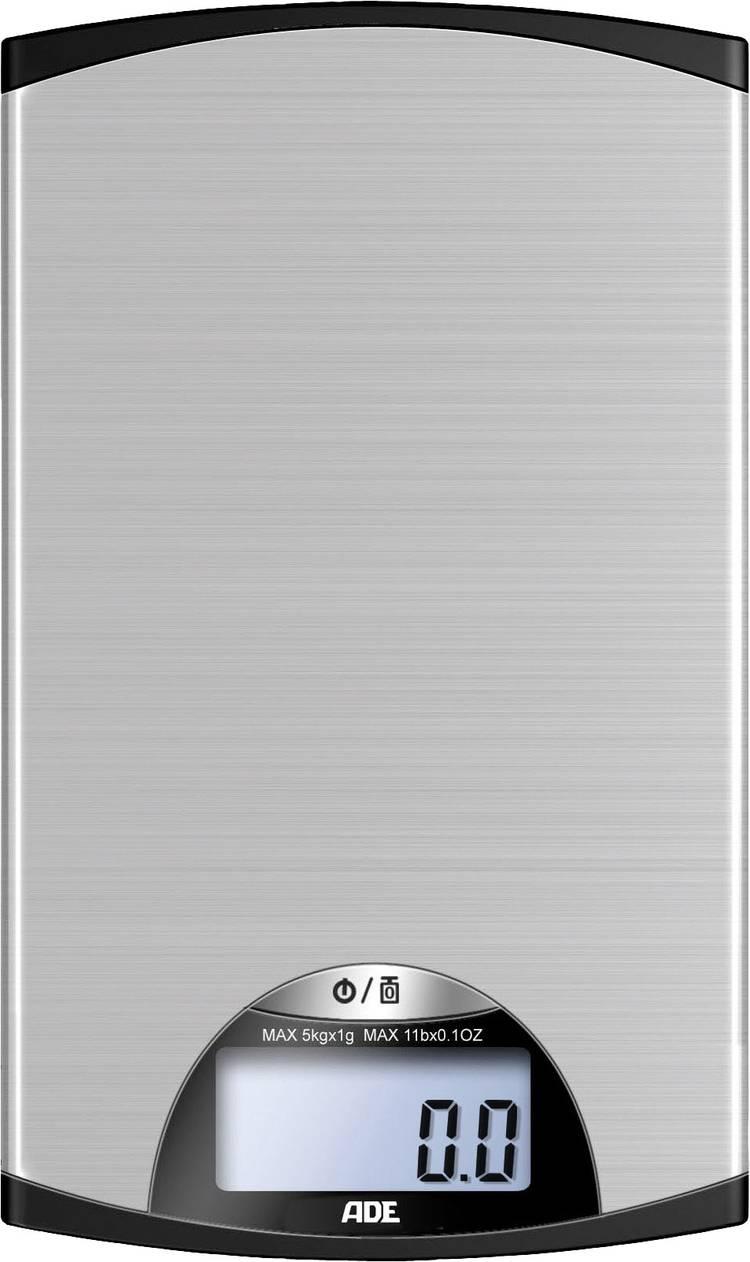 Image of Digitale keukenweegschaal ADE KE 850 Kylie Zilver-zwart