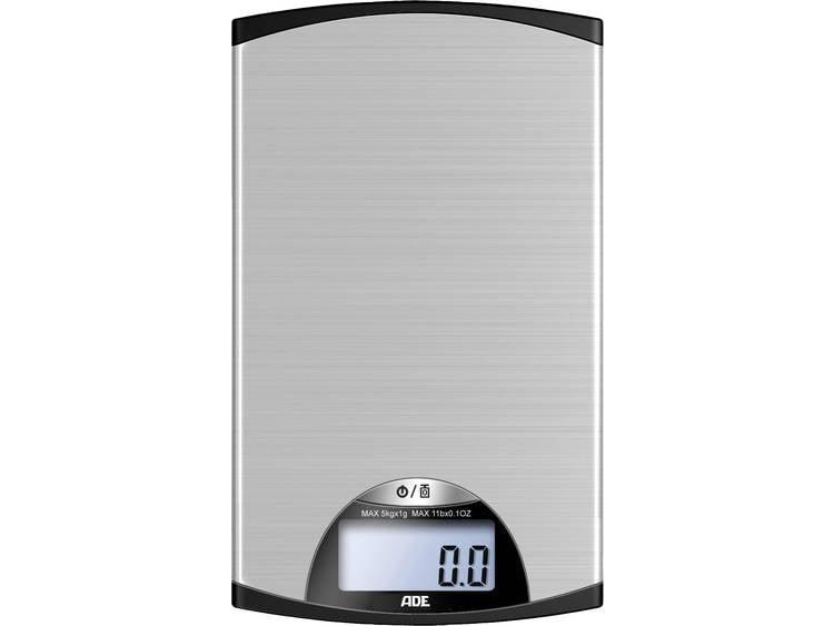 ADE KE 850 Kylie Digitale keukenweegschaal Zilver-zwart