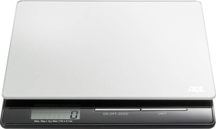 Image of Digitale keukenweegschaal ADE KE 1215 Franzi Zilver-zwart