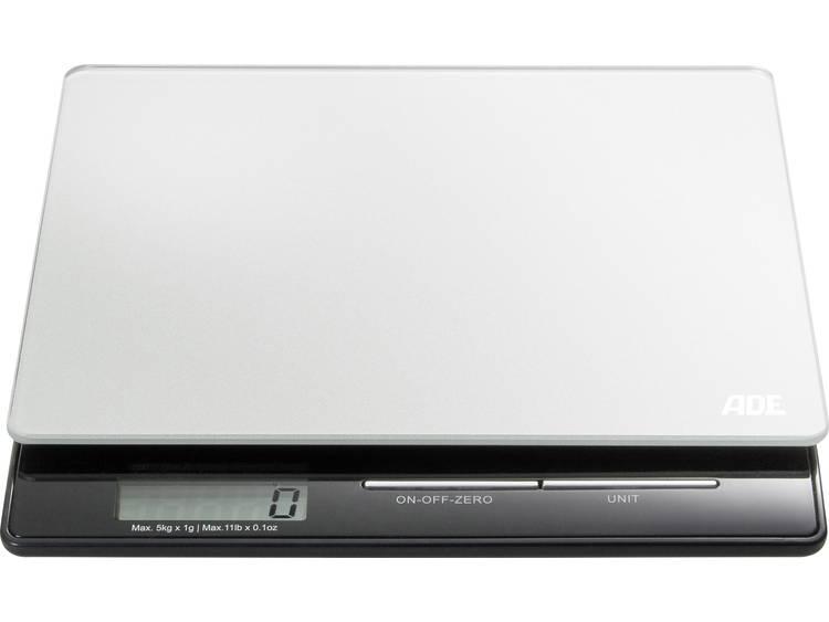 ADE KE 1215 Franzi Digitale keukenweegschaal Zilver-zwart