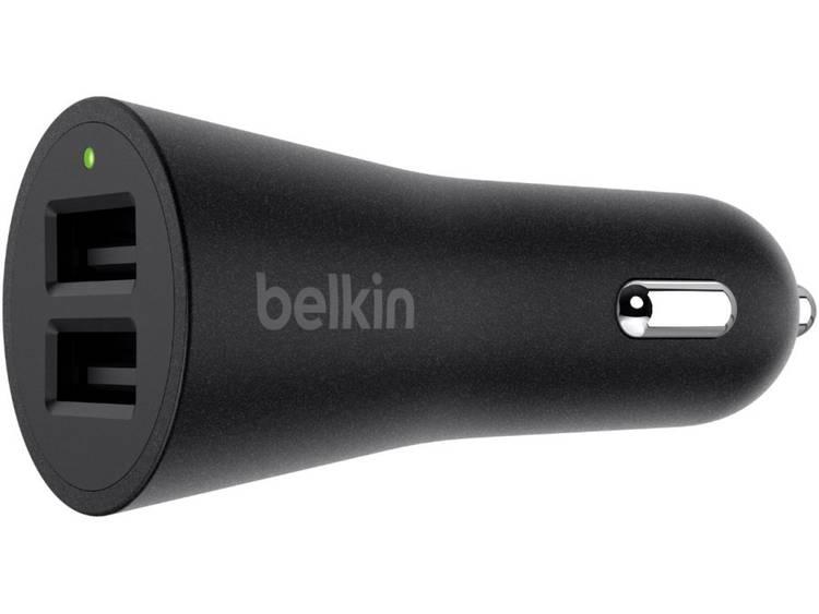 Belkin Dual Metallic Car Charger Universal 24W Black