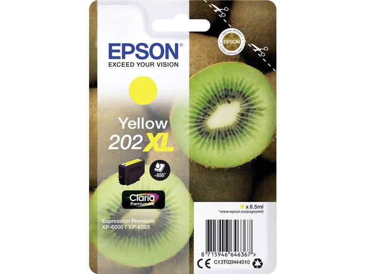 Epson Inkt T02H44, 202XL Origineel Geel C13T02H44010
